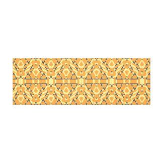 Impressão Em Canvas Arte geométrica horizontal longa da parede do