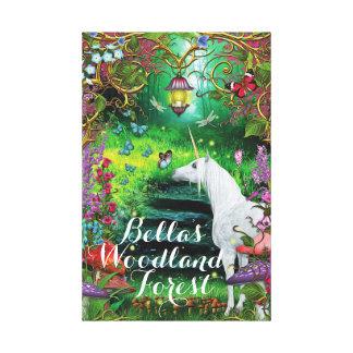 Impressão Em Canvas Arte mágica para sua floresta Enchanted