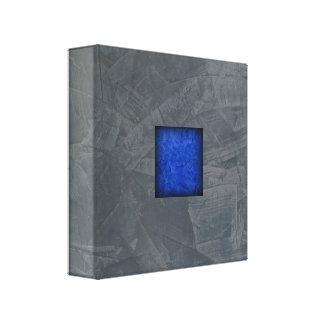 Impressão Em Canvas Arte moderna azul escuro das cinzas de ardósia
