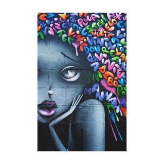 Impressão Em Canvas Arte urbana