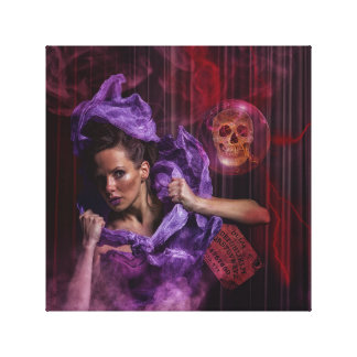 Impressão Em Canvas As bruxas rituais