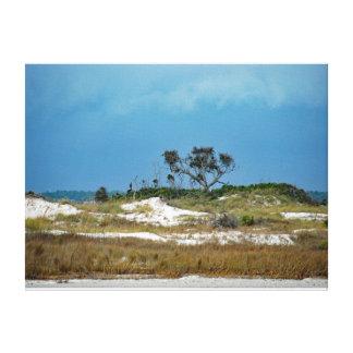 Impressão Em Canvas As dunas de aproximação da tempestade aproximam