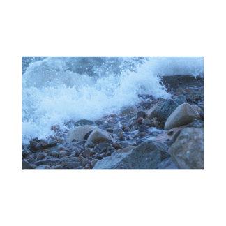 Impressão Em Canvas as rochas da baía