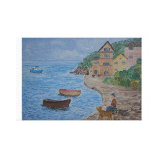 Impressão Em Canvas Assento pelo porto