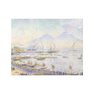 Impressão Em Canvas Auguste Renoir - a baía de Nápoles