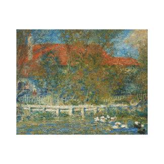 Impressão Em Canvas Auguste Renoir - a lagoa do pato