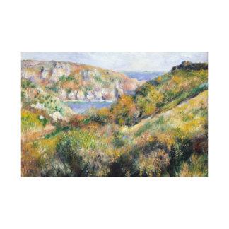 Impressão Em Canvas Auguste Renoir - colinas em torno da baía