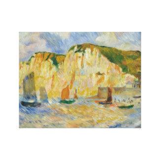 Impressão Em Canvas Auguste Renoir - mar e penhascos