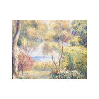 Impressão Em Canvas Auguste Renoir - Paysage um Cagnes