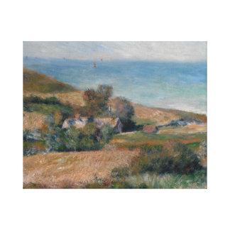 Impressão Em Canvas Auguste Renoir - vista do Seacoast