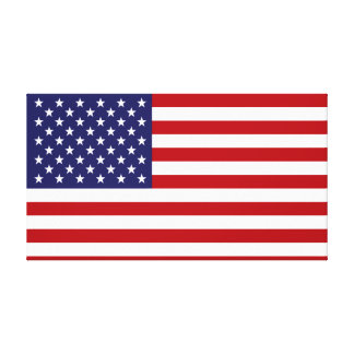 Impressão Em Canvas Bandeira americana - bandeira dos Estados Unidos -