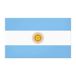 Impressão Em Canvas Bandeira de Argentina grande