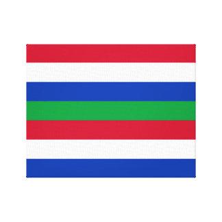 Impressão Em Canvas Bandeira de Schiermonnikoog