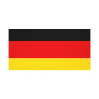 Impressão Em Canvas Bandeira nacional do mundo de Alemanha