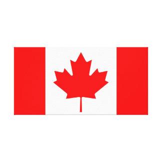 Impressão Em Canvas Bandeira nacional do mundo de Canadá