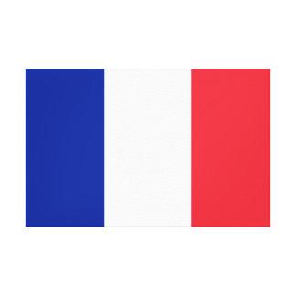 Impressão Em Canvas Bandeira nacional do mundo de France