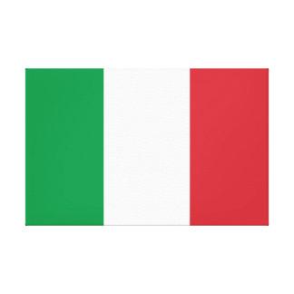 Impressão Em Canvas Bandeira nacional do mundo de Italia