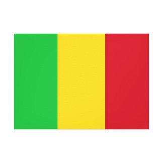 Impressão Em Canvas Bandeira nacional do mundo de Mali