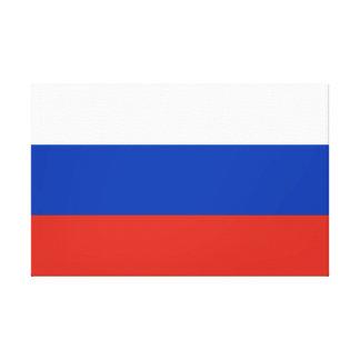 Impressão Em Canvas Bandeira nacional do mundo de Rússia