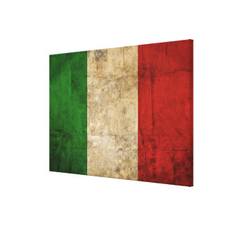 Impressão Em Canvas Bandeiras de país afligidas | Italia