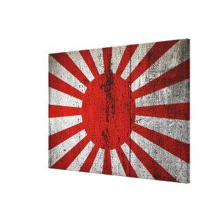 Impressão Em Canvas Bandeiras de país afligidas | Japão