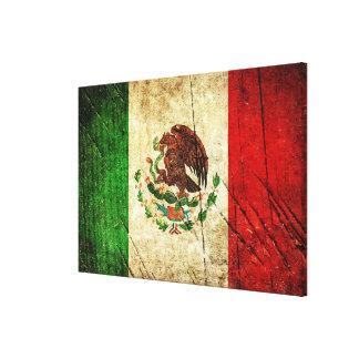 Impressão Em Canvas Bandeiras de país afligidas | México