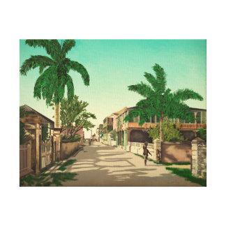 Impressão Em Canvas Belas artes de Nassau, Bahamas