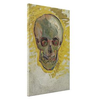 Impressão Em Canvas Belas artes GalleryHD do vintage do crânio de