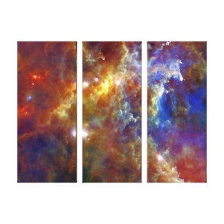 Impressão Em Canvas Berçário estelar na nebulosa do Rosette