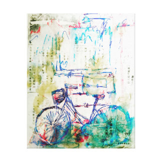 Impressão Em Canvas Bicicleta