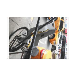 Impressão Em Canvas Bicicleta e mim