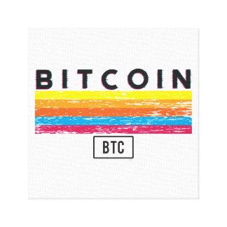 Impressão Em Canvas Bitcoin expresso