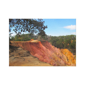 Impressão Em Canvas Blefe vermelho, Morgantown, MS