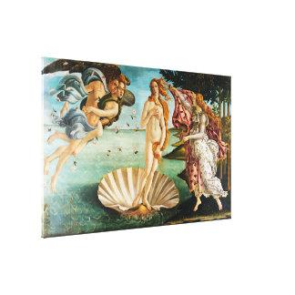 Impressão Em Canvas BOTTICELLI- o nascimento de Venus 1483