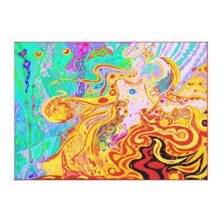 Impressão Em Canvas Cabelo do tamanho médio ideal do universo divino