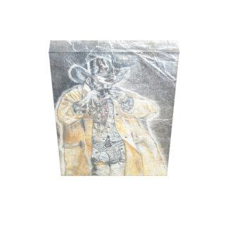 Impressão Em Canvas Café do bebendo do vaqueiro