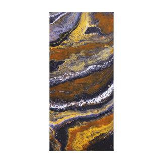Impressão Em Canvas Camadas alaranjadas