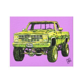Impressão Em Canvas Caminhão de Bubba