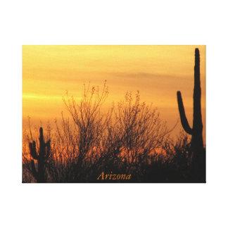 Impressão Em Canvas Canvas--Arizona Sunset-3