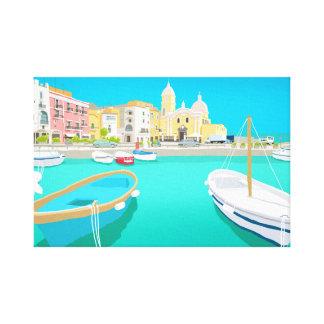 Impressão Em Canvas Capri