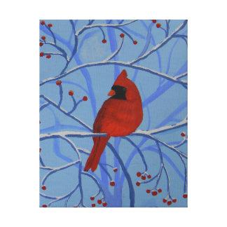 Impressão Em Canvas Cardeal alegre do coração