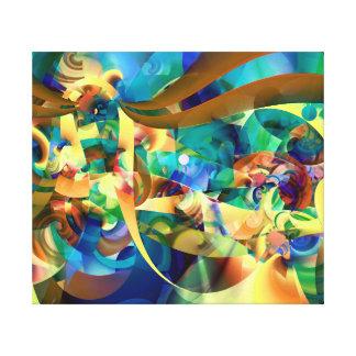 Impressão Em Canvas Carnaval maravilhoso