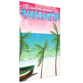 """Impressão Em Canvas Cartaz do viagem na aventura de Vanuatu """"viagem"""""""