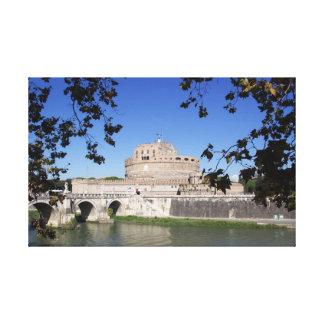 Impressão Em Canvas Castel Sant Angelo