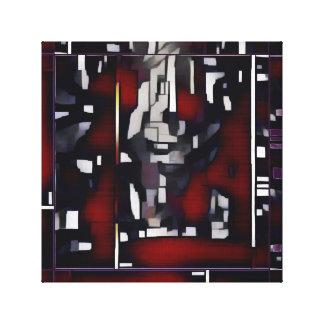 Impressão Em Canvas Castiçal abstrato