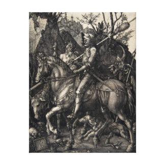 Impressão Em Canvas Cavaleiro de Albrecht Dürer, morte e o diabo