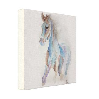 Impressão Em Canvas cavalo mágico