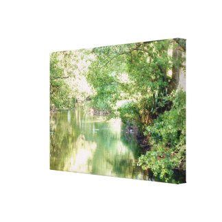 Impressão Em Canvas Cena do rio de Norfolk