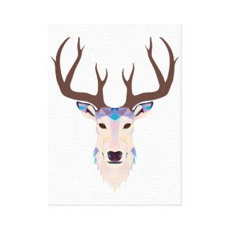 Impressão Em Canvas Cervo Deer