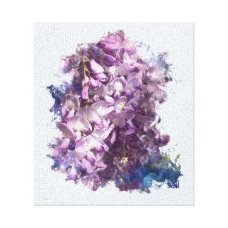 Impressão Em Canvas Céu das glicínias